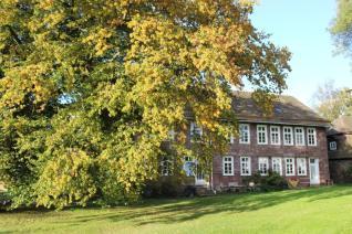 Das Hofmeisterhaus beherbergt die Gästewohnungen auf dem Gutshof