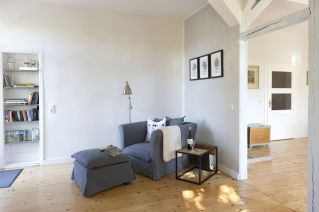 Leseplatz im Wohnzimmer